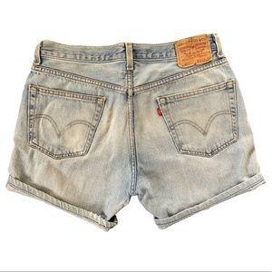 Vintage 505 Levi Jean Shorts